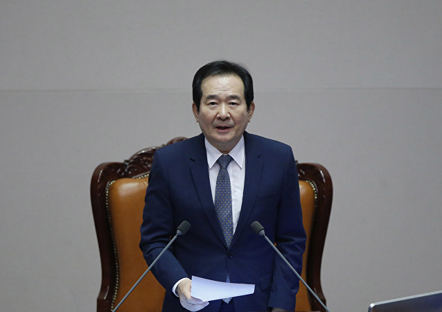 South Korea's Assembly Speaker Chung Sye-kyun (File)