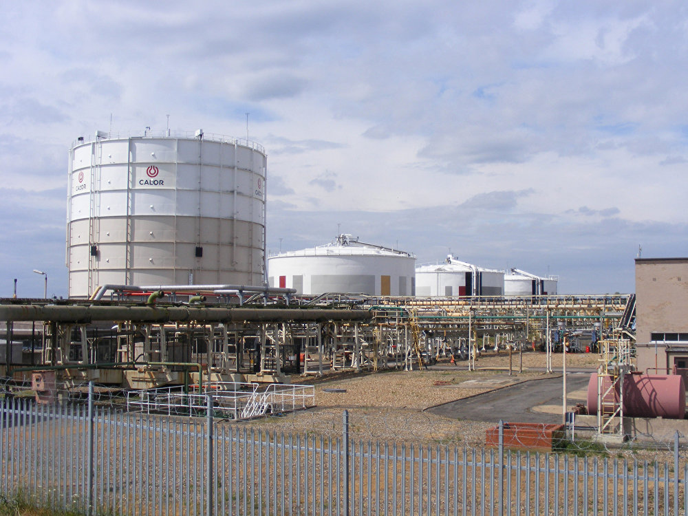 Calor Gas Ltd. tank farm, Canvey Island