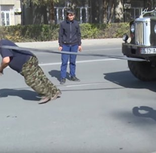Strongman From Kyrgyzstan