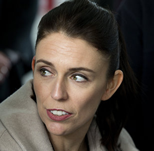 New Zealand Labour Party leader Jacinda Ardern during a visit to Addington School in Christchurch, New Zealand, Wednesday, Aug. 16, 2017. New Zealand will hold a general election on Saturday September 23, 2017.