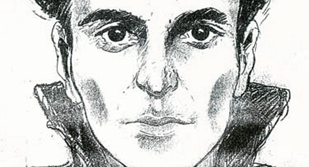 This undated file handout police sketch released on June 2, 2010 by the Federal Police of Belgium shows a portrait of one of the alleged members of the gang of Brabant's killers