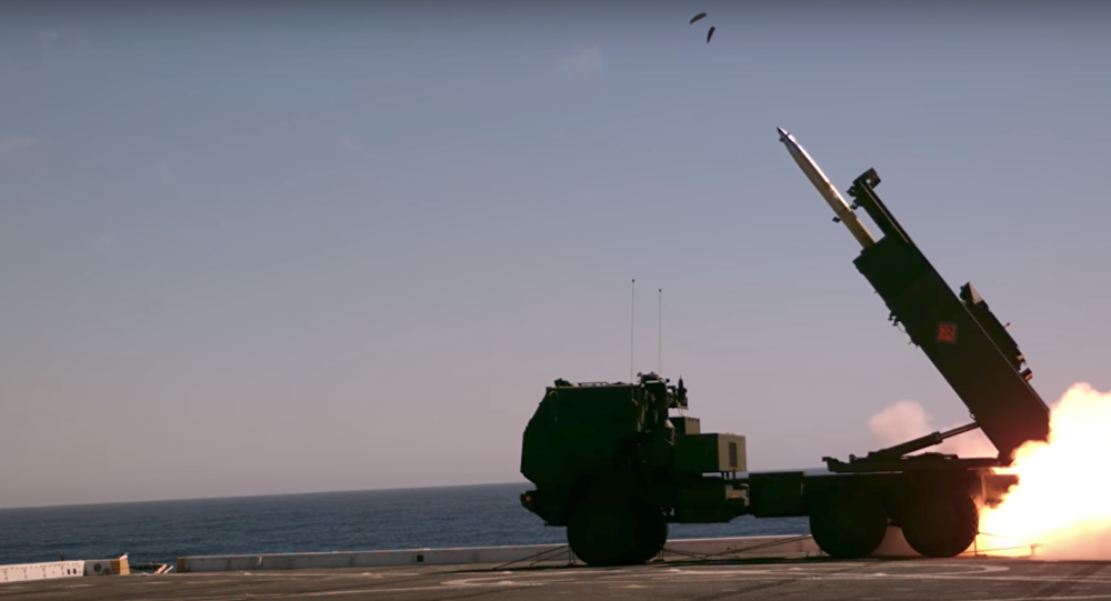 HIMARS at sea