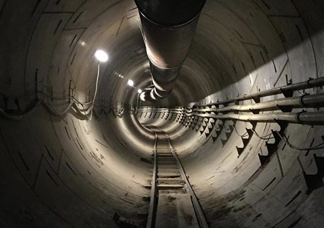 Elon Musk releases first image of new tunnel under Los Angeles