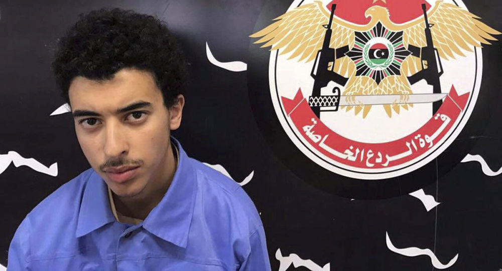 Hashem Abedi, the brother of Manchester attack bomber, is seen in this handout photo provided by Libyan Special Deterrence Force on May 25, 2017