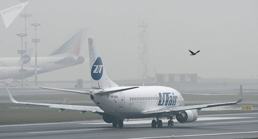 UTair airline's Boeing 737 at Vnukovo Airport. (File)