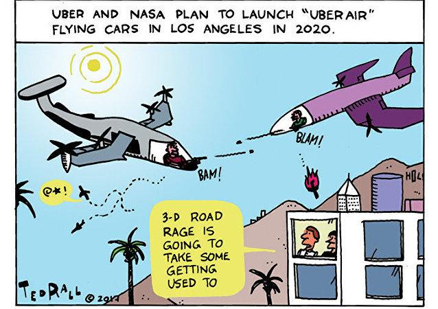 Uber Goes Airborne
