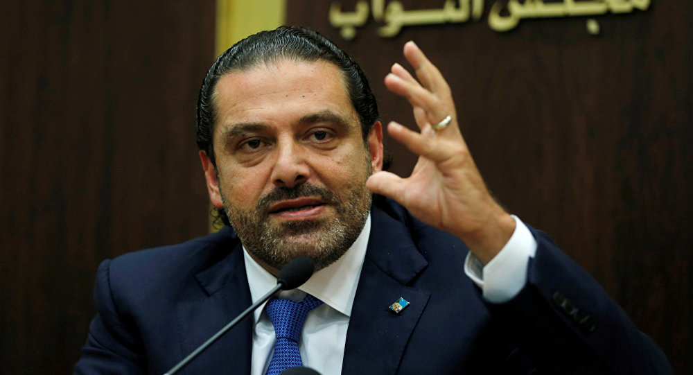 French president invites Lebanese PM to France