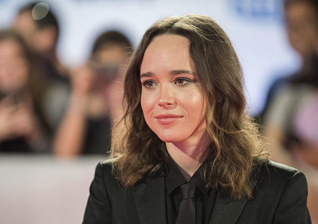 Actress Ellen Page attends the premiere for My Days of Mercy on day 9 of the Toronto International Film Festival, at Roy Thomson Hall on Friday, Sept. 15, 2017, in Toronto