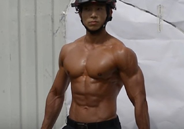 Firefighters In Seoul Photographed For a Charity Calendar