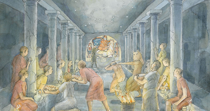 Inside London's Temple of Mithras