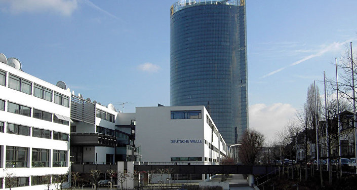 Deutsche Welle headquarters in the Schürmann building in Bonn