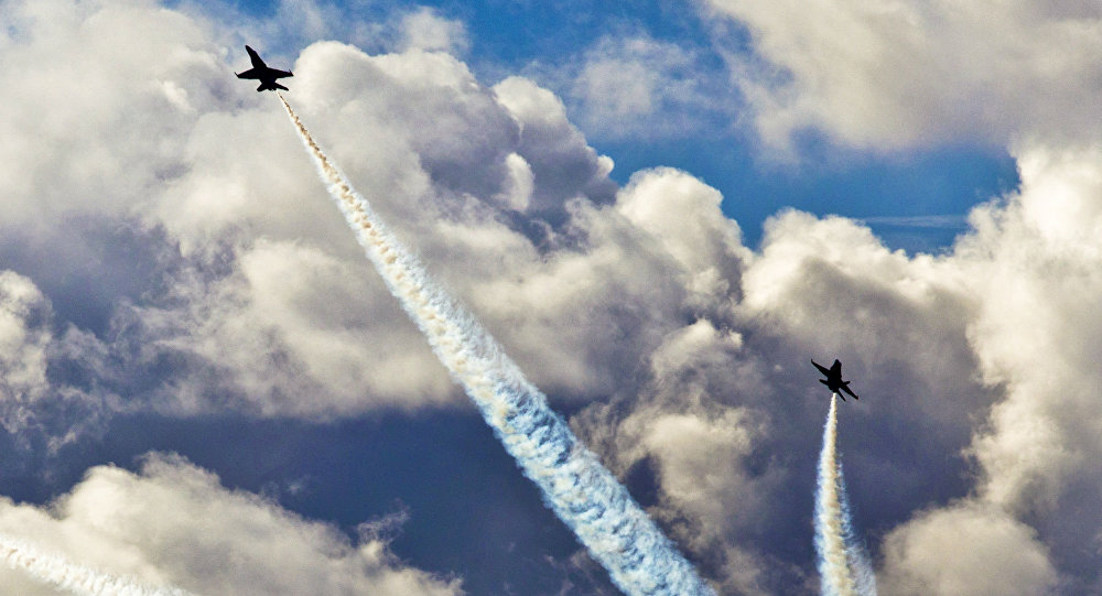 Navy admits pilot did scandalous sky-drawings over Washington