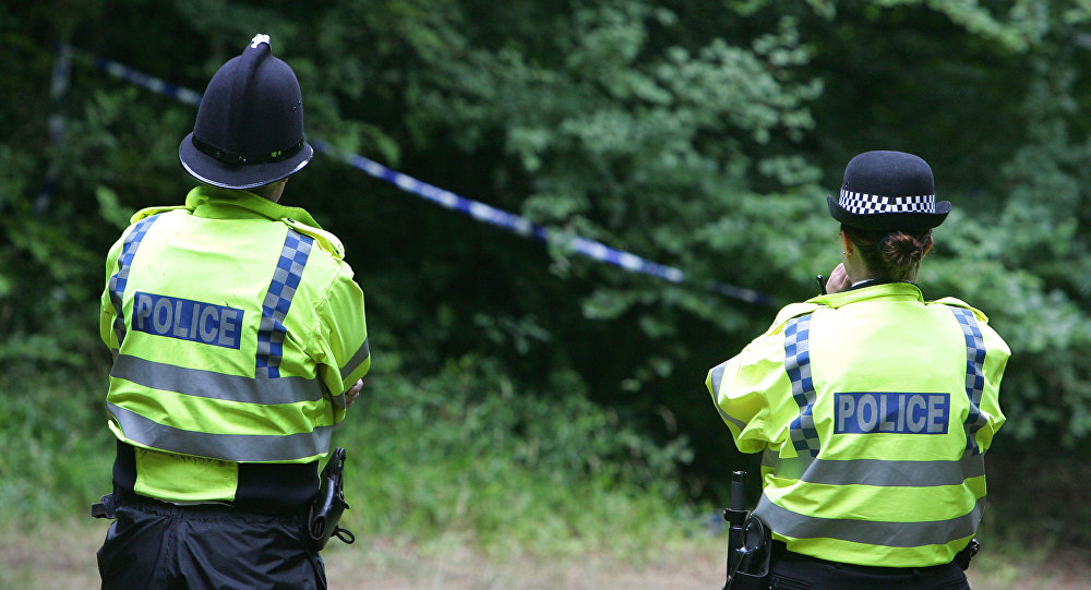 An aircraft and a helicopter have crashed mid-air near London