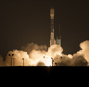 (File) This photo provided by NASA, A Delta 2 rocket carrying the Soil Moisture Active Passive, SMAP ,satellite launches early Saturday, Jan. 31, 2015 from Vandenberg Air Force Base, Calif.