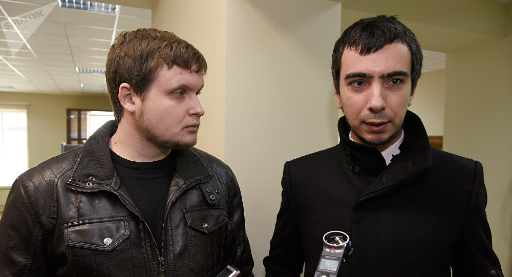 Pranksters Lexus (Alexei Kuznetsov) and Vovan (Vladimir Kuznetsov). File photo