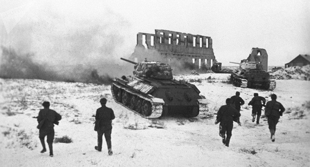 Fighting around Stalingrad, winter 1942/43