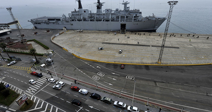 British warship to sail through South China Sea