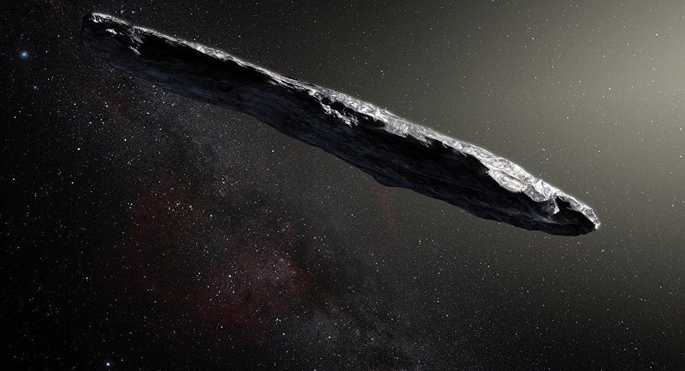Astronomers scan 'alien' comet 'Oumuamua for ET signals