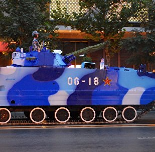 The VN18 amphibious infantry fighting vehicle