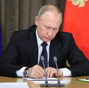 President Putin chairs meeting on army modernization