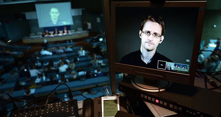NSA former intelligence contractor Edward Snowden