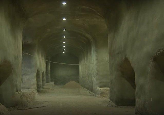 Underground Cemetery in Jerusalem