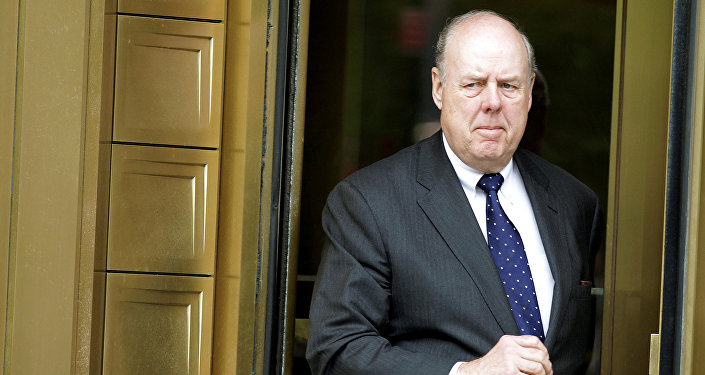 Lawyer John Dowd exits Manhattan Federal Court in New York, U.S. on May 11, 2011