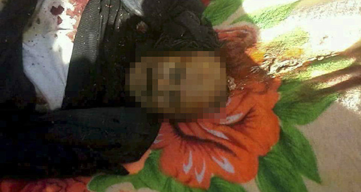 Alleged body of Yemen's former President Ali Abdullah Saleh