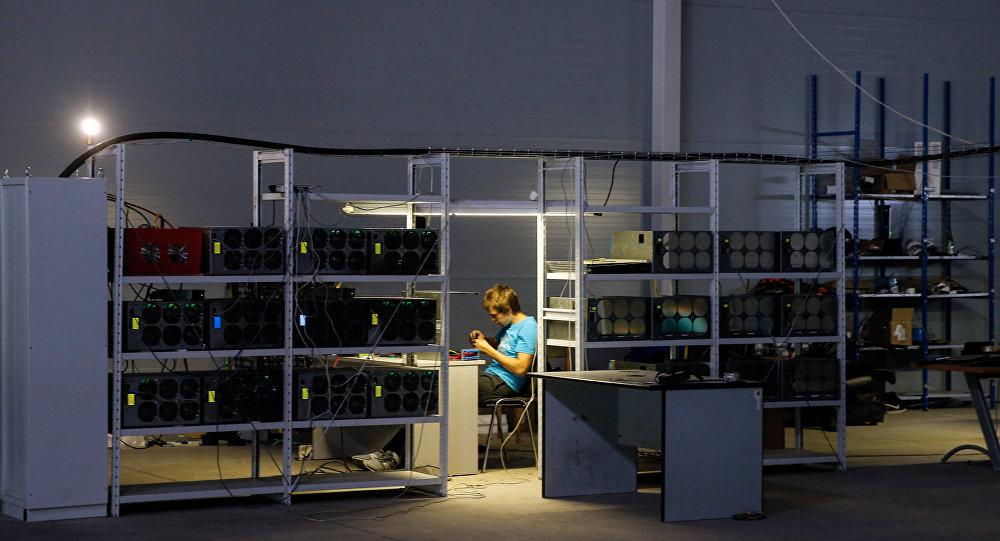 Virtual currencies mining farm