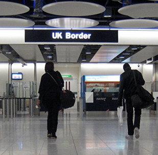The UK Border at Heathrow Airport