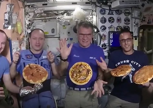 Pizza Cooked Inside the ISS