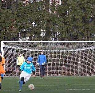 24-Hour-Long Football Match Held In Kaliningrad