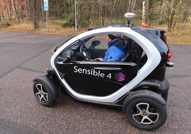Sensible 4 Juto self-driving car