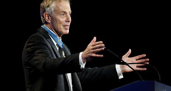 Former British Prime Minister Tony Blair (File)