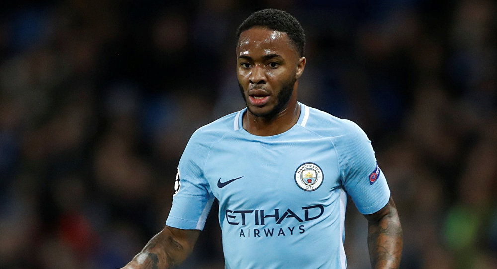Soccer Football - Champions League - Manchester City vs Feyenoord - Etihad Stadium, Manchester, Britain - November 21, 2017 Manchester City's Raheem Sterling in action