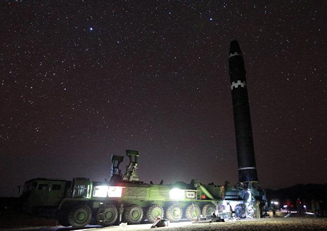 Hwasong-15 intercontinental ballistic missile