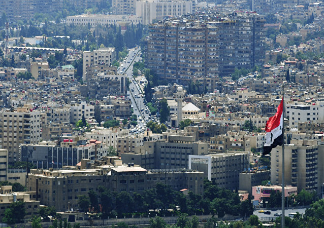 A view of Damascus from Qasioun Mountain. File photo