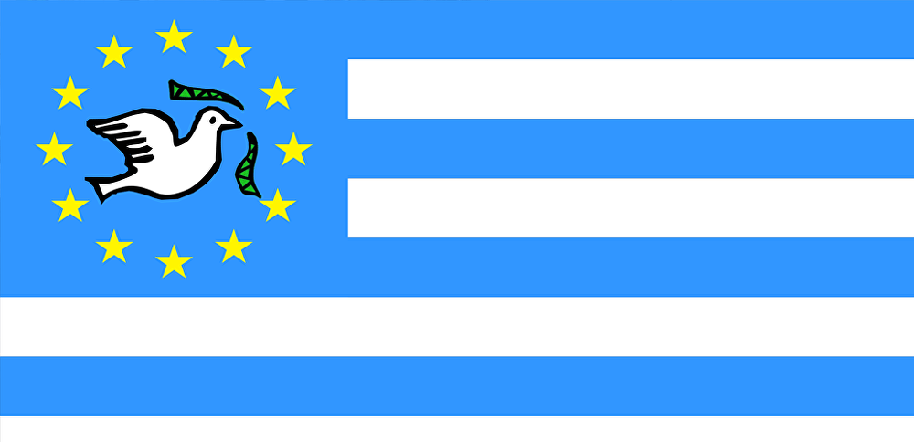 The flag of Ambazonia, the name given to the former British Cameroons