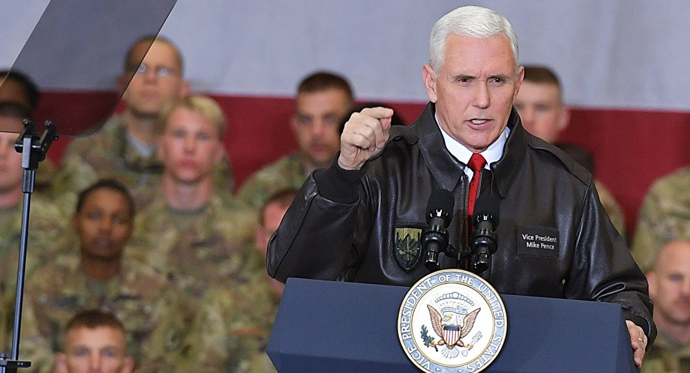 US Vice President Pence warns Pakistan against harbouring terrorists