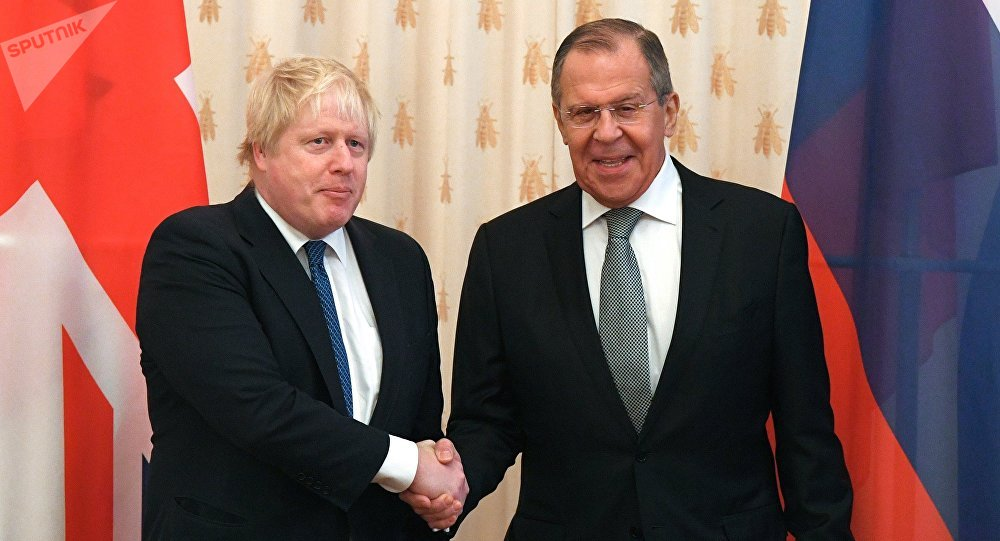 Boris Johnson's diplomatic visit to Russian Federation turns decidedly undiplomatic