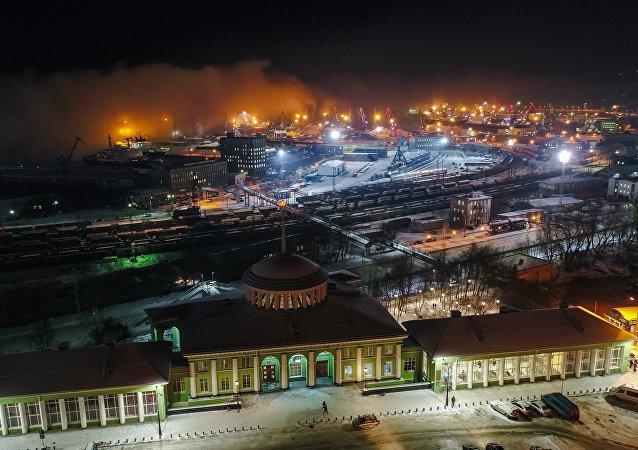 Holiday season in Murmansk