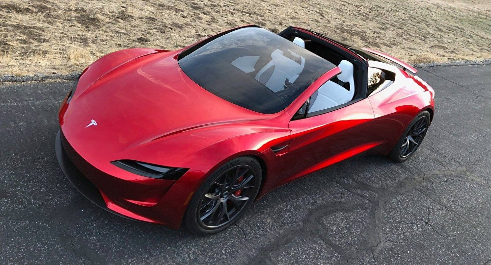 Elon Musk is launching a Tesla Roadster to Mars orbit