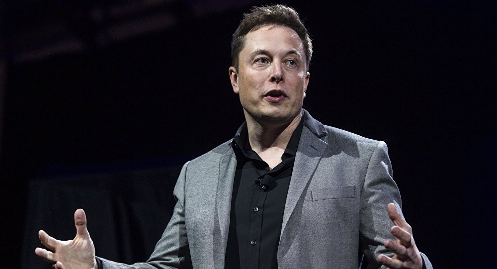 Elon Musk, CEO of Tesla Motors and SpaceX (File)