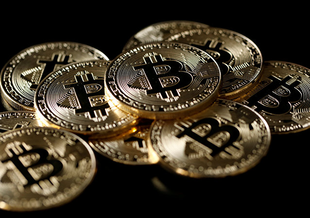 A collection of Bitcoin (virtual currency) tokens are displayed in this picture illustration taken December 8, 2017
