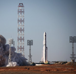 Zenit-3SLBF carrier rocket launches Spektr-R astrophysical space observatory from Baikonur space center