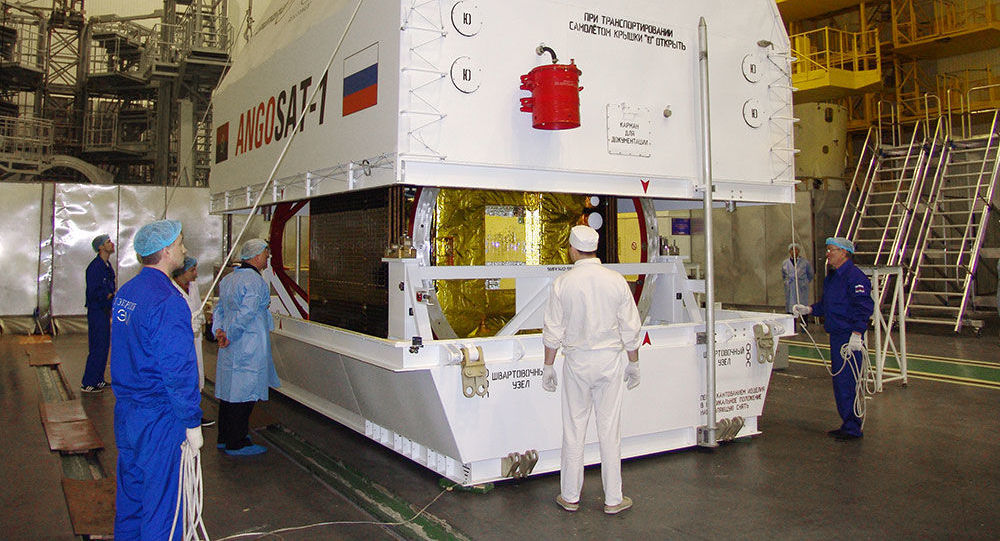 Angosat spacecraft