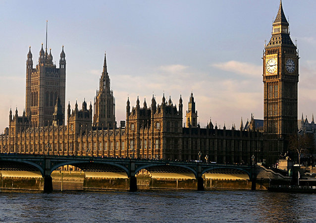 The Houses of Parliament are seen in London. (File)