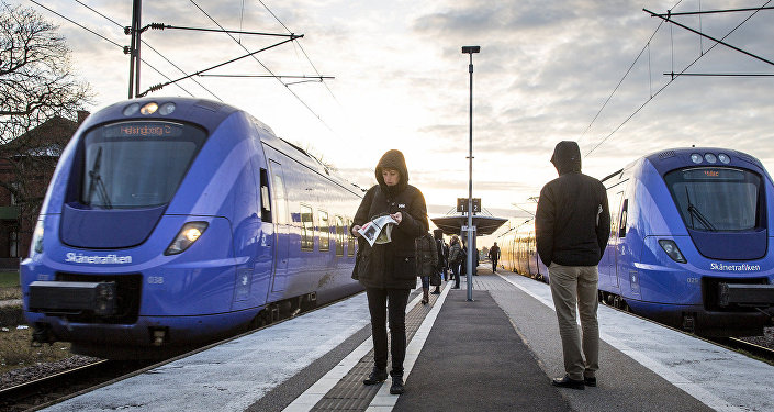 Commuter trains in Sweden