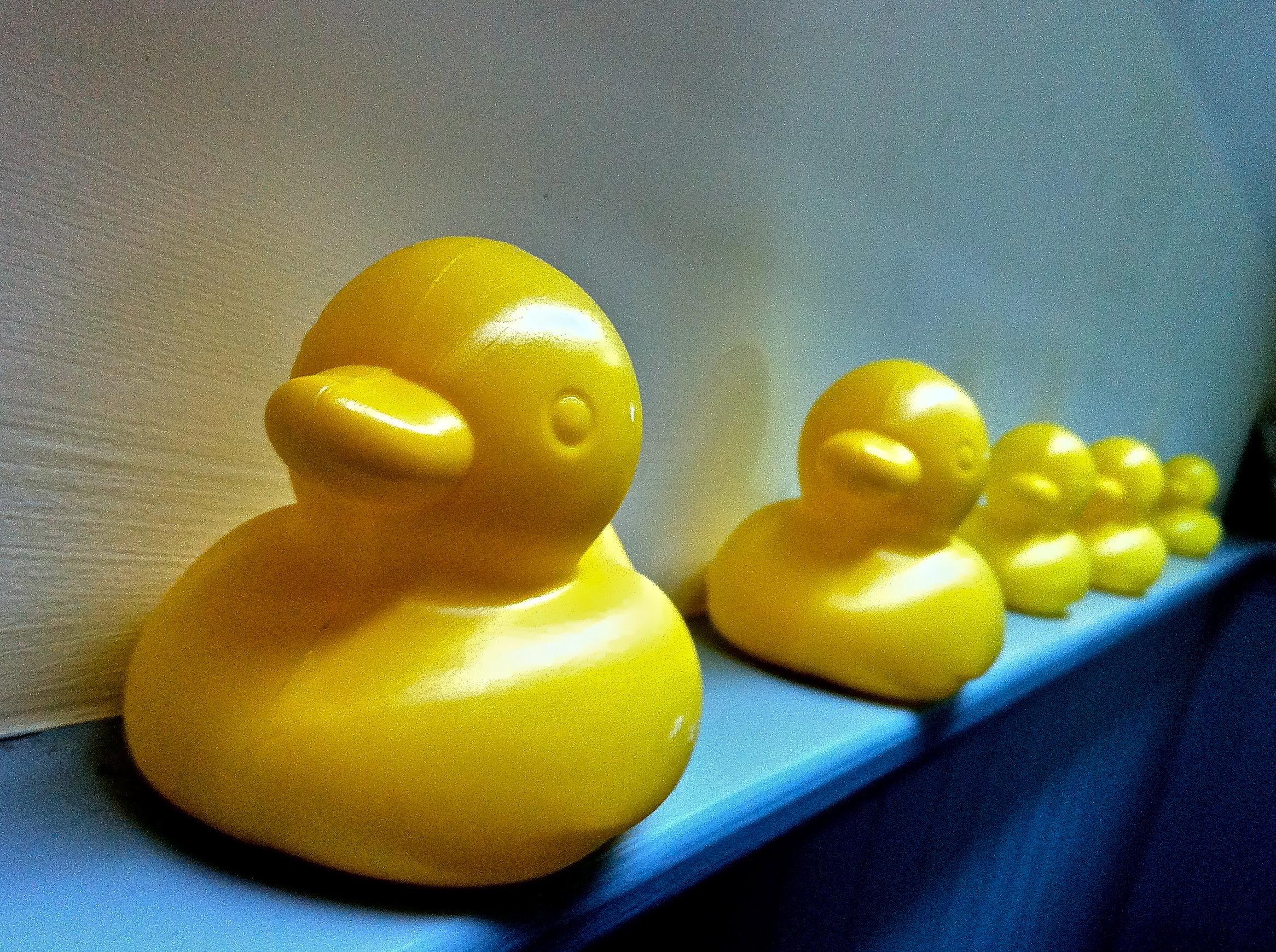 Plastic Yellow Ducks
