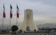 Azadi Tower on Tehran's Azadi Square